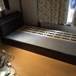 ニトリのベッドを断捨離した